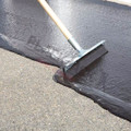 50cm Seal-Right® Rubber Squeegee in Use