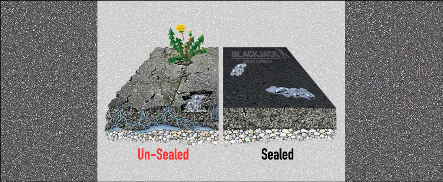 Why is it important to use a tarmac sealer?