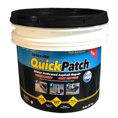 Latex·ite® Quick Patch® H2O 18 KG PERMANENT POT HOLE REPAIR