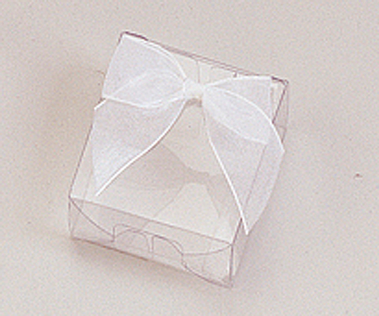 3 Butterfly Favor Box Clear Plastic 3 1//4 inch x 1 inch Party Favor// Trinket box