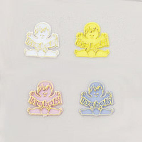 """1.5"""" Baby Shower Charm - Pack of 288 Count"""