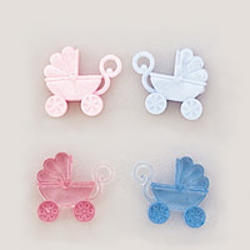 Baby Shower Carriage Favors Pack Of 864 Count 6 Gross Cb