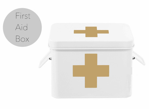 """First Aid """"Hangover"""" Kit Box for Bachelor Parties, Bridal Showers and Wedding Day After"""