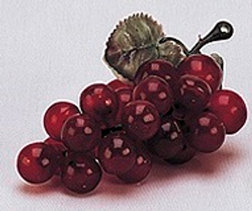 """4"""" Wine Colored Artificial Grapes - Pack of 144 Plastic Grape Clusters"""