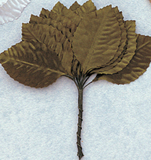 "1 3/4"" Green Flower Leaf - Pack of 6 Gross"