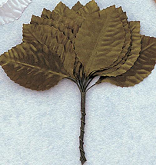 """1 3/4"""" Green Flower Leaf - Pack of 6 Gross"""