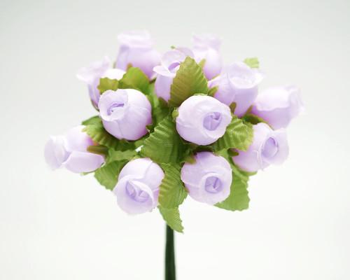 Lavender Polyester Rose - Pack of 144