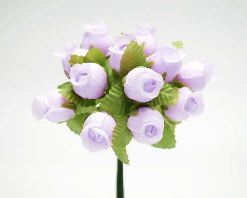 Lavender Polyester Rose - Pack of 144