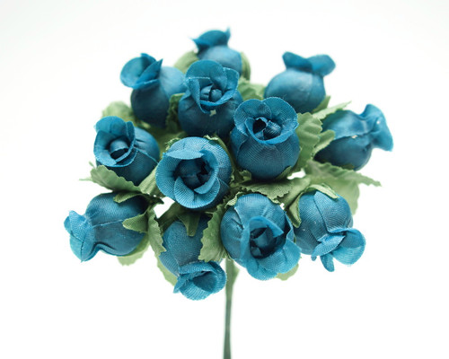 Turquoise Polyester - Pack of Rose 144