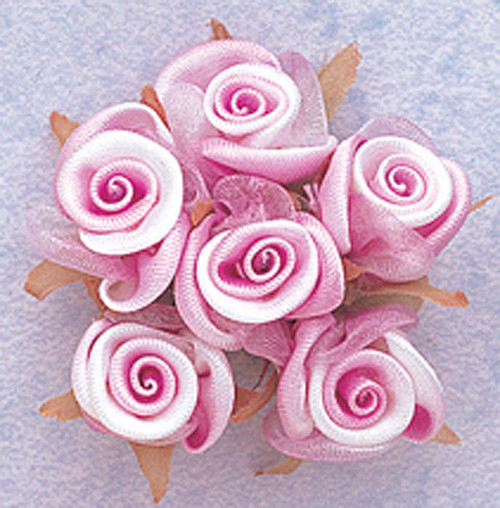 "3/4"" Lavender Satin Silk Flowers - Pack of 72"