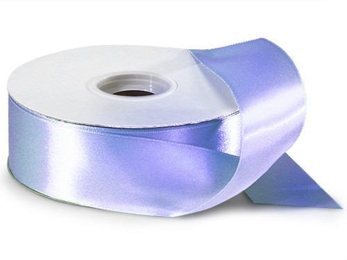 "1.5""x50 yard Lavender Polyester Satin Gift Ribbon - Pack of 5 Rolls"
