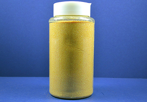 4 x 1-Pound Bottle Gold Yellow Polyester Craft Glitter (64 Ounces)