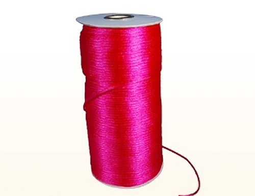 2mm wide x 100 yards Fuchsia Rattail Cord Trims - Pack of 5 Spools