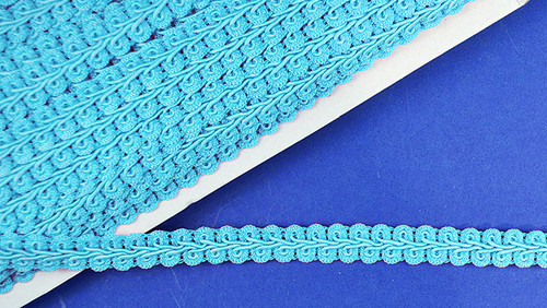 "1/2"" x 15 Yards Light Blue Gimp Braid - 5 Packs Gimp Braid Trim"