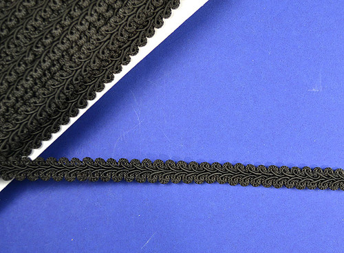 "1/2"" x 15 Yards Black Gimp Braid - 5 Packs Gimp Braid Trim"