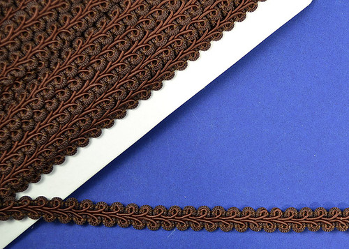 "1/2"" x 15 Yards Brown Gimp Braid - 5 Packs Gimp Braid Trim"