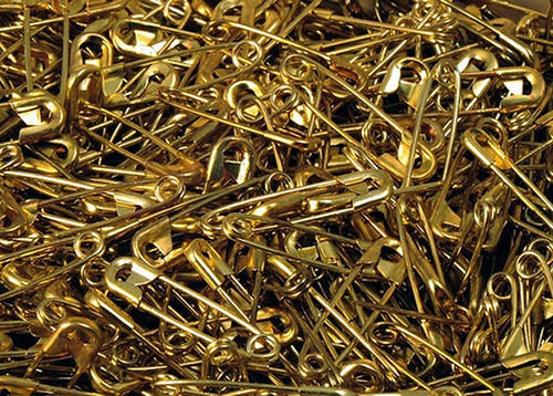 "Wholesale Safety Pins - 3/4"" Small Safety Pins - Pack of 1000 Pieces"