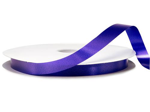 "3/8""x100 yard Purple Polyester Satin Gift Ribbon - Pack of 15 Rolls"