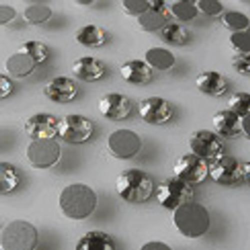 SS16 3.8 mm Xilion Rose Clear Flat Back Hot Fix Rhinestones - Pack of 1440 Loose Rhinestones