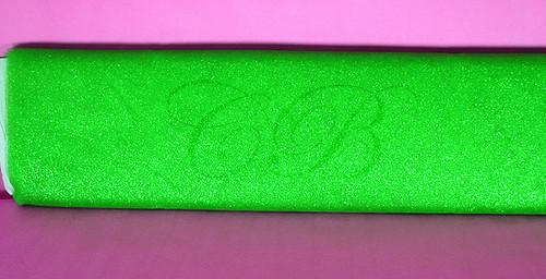 """54""""x10 yards (30FT) Apple Green Glitter Tulle Bolt"""