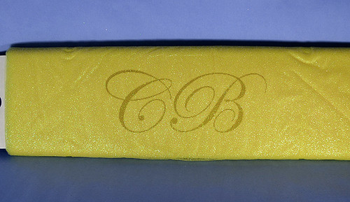 "54""x10 yards (30FT) Light Yellow Glitter Tulle Bolt"