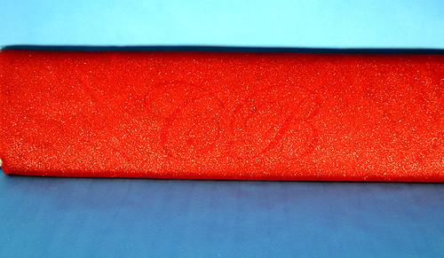 "54""x10 yards (30FT) Red Glitter Tulle Bolt"