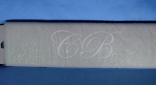 """54""""x10 yards (30FT) Silver Glitter Tulle Bolt"""