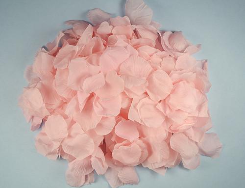 Pink Wedding Silk Rose Flower Petals - 12 Packs