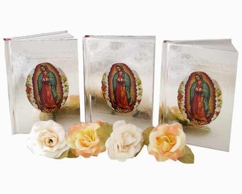 "5"" Spanish Virgen de Guadalupe Bible Favor - Pack of 10"
