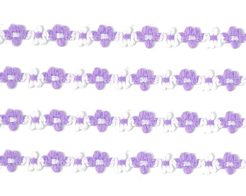 "3/8"" x 25 Yards Lavender French Rococo Ribbon Trim - Pack of 5"