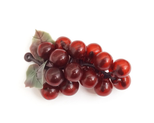 """2 3/4"""" Wine Colored Artificial Grapes - Pack of 120  Plastic Grape Clusters"""