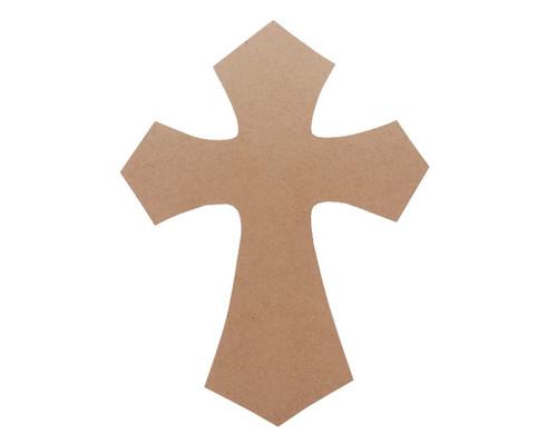 "9"" x 12 Decorative Wooden Cross - Pack of 6 Crucifix Crosses"