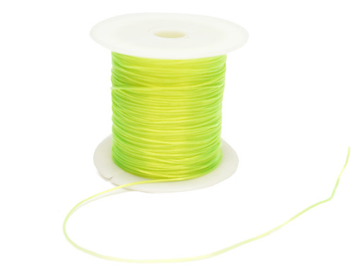 8 Yards Apple Green Strong & Stretchy Elastic Thread - Pack of 25 Spools