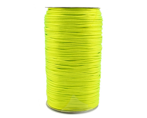 2mm wide x 200 yards Apple Green Rattail Cord Trims - 1 Spool