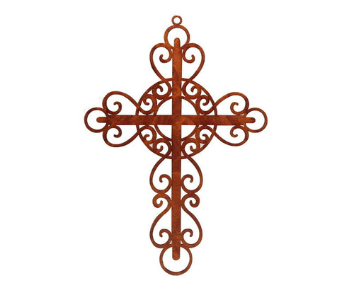 "7"" x 10"" DIY Laser-Cut Wood Cross for Centerpieces and Decoration - Pack of 12"