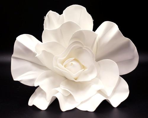 """16"""" White Rose Foam Flower"""