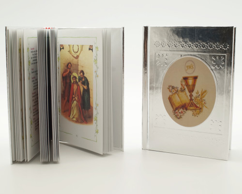 "5"" Spanish JHS First Communion Bible Favor - Pack of 10"