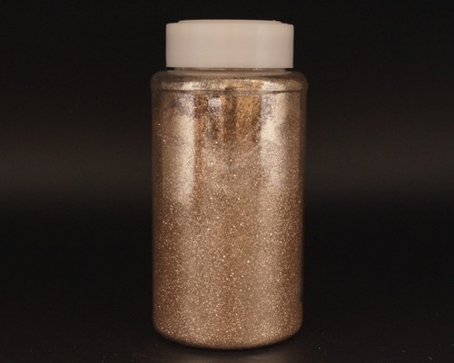 4 x 1-Pound Bottle Champagne Polyester Craft Glitter (64 Ounces)
