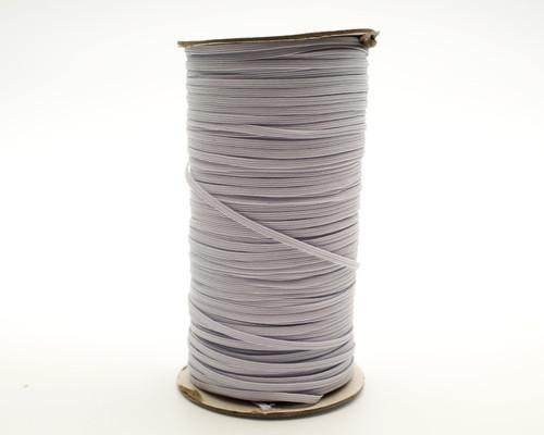 "1/8"" x 200 Yards White Braided Elastic Cord Sewing Trim"