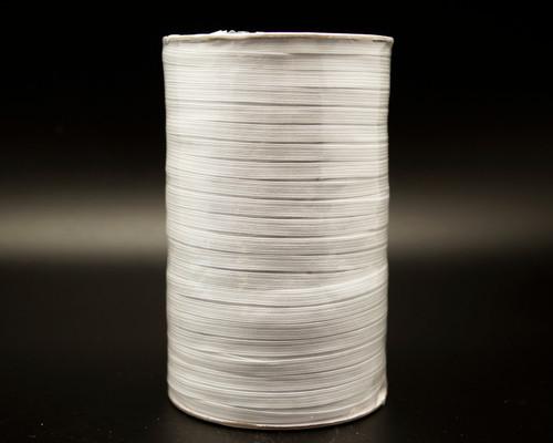 "1/4"" x 200 Yards White Braided Elastic Cord Sewing Trim"