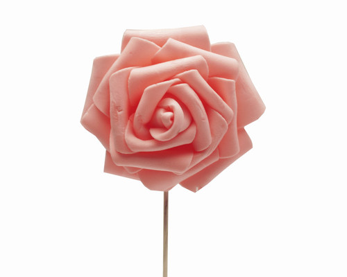 "2 3/4"" Blush Rose Foam Flowers - Pack of 120 Pieces"