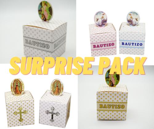 SURPRISE PACK Mixed Baptism Favor Party Box  - 500 Pieces