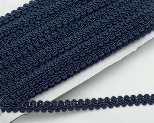 """1/2"""" x 15 Yards Navy Blue Gimp Braid - 5 Packs Gimp Braid Trim"""