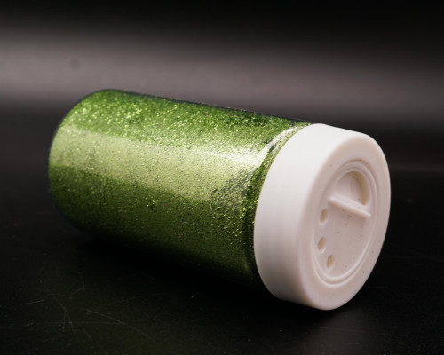 3.5 oz Jade Fine Craft Glitter with Grid Sifter - Pack of 6 Bottles