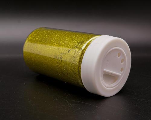 3.5 oz Olive Fine Craft Glitter with Grid Sifter - Pack of 6 Bottles