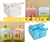 SURPRISE PACK Mixed Baby Shower Theme Favor Party Box - 500 Pieces