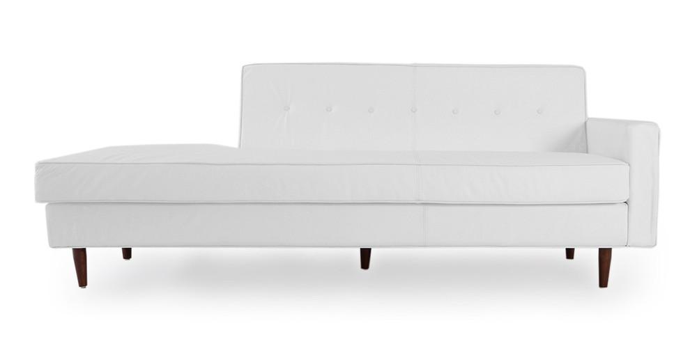 Eleanor Sofa Right, Arctic White