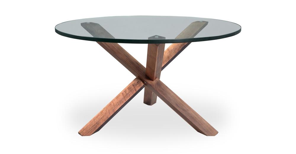 Tripod Coffee Table Walnut