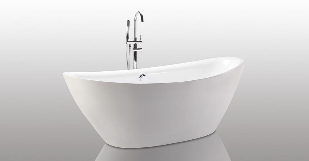 "Tholos Bathtub 71"" Round Overflow"