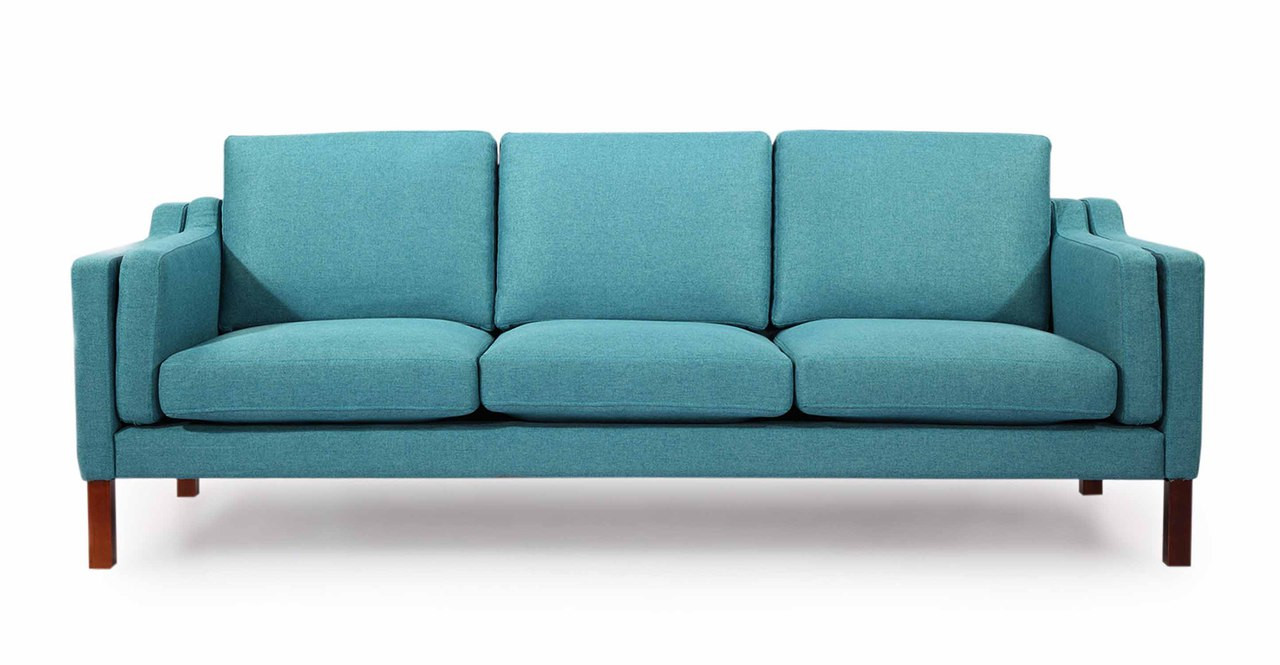 Monroe Sofa, Dutch Blue